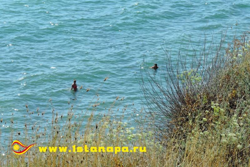 Анапа Высокий Берег море