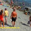 Анапа Высокий Берег галечный пляж