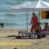 Анапа п. Джемете отдыхающие на пляже