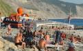 Анапа пляж 40 лет Победы благоустроенная зона